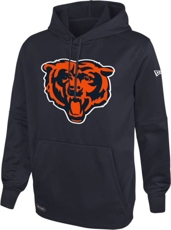 New Era Men's Chicago Bears Navy Combine Pullover Logo Hoodie product image