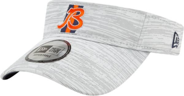 New Era Men's Chicago Bears Grey Sideline 2021 Training Camp Adjustable Visor product image