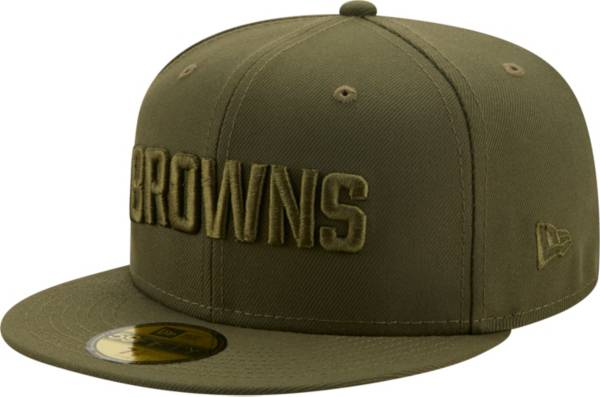 New Era Men's Cleveland Browns Color Pack 59Fifty Olive Fitted Hat product image
