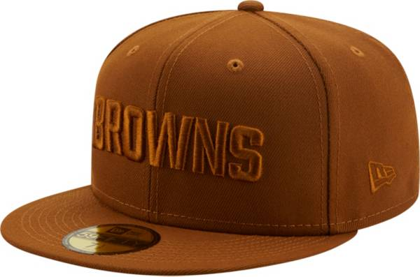 New Era Men's Cleveland Browns Color Pack 59Fifty Peanut Fitted Hat product image