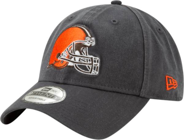 New Era Men's Cleveland Browns Core Classic Graphite Adjustable Hat product image