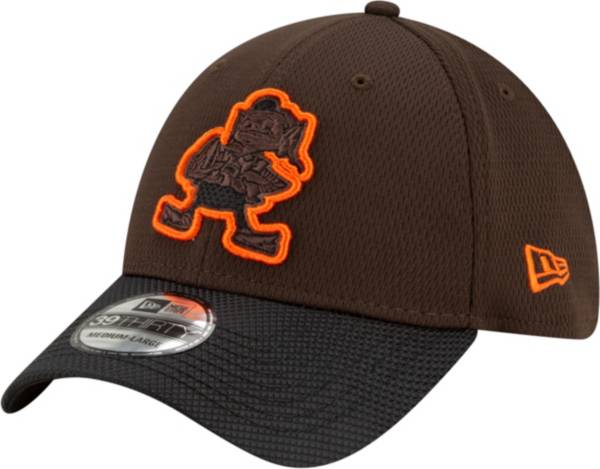 New Era Men's Cleveland Browns Sideline 2021 Road 39Thirty Brown Stretch Fit Hat product image