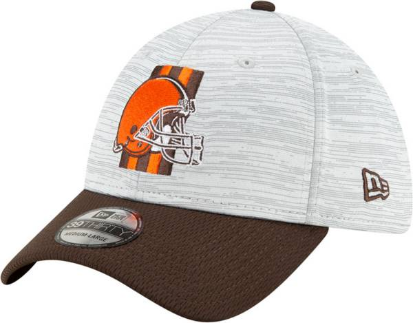 New Era Men's Cleveland Browns Grey Sideline 2021 Training Camp 39Thirty Stretch Fit Hat product image