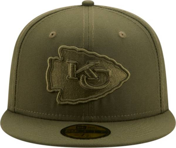 New Era Men's Kansas City Chiefs Color Pack 59Fifty Olive Fitted Hat product image