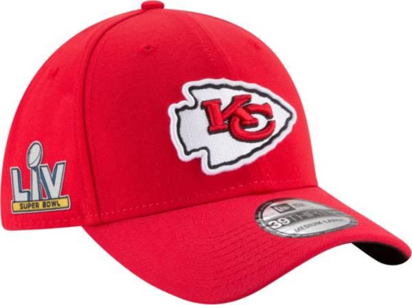 New Era Men's Kansas City Chiefs Super Bowl LV Patch 39Thirty Stretch Fit Hat product image