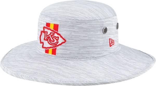 New Era Men's Kansas City Chiefs Grey Sideline 2021 Training Camp Panama Bucket Hat product image