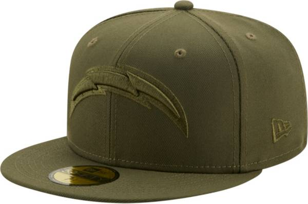 New Era Men's Los Angeles Chargers Color Pack 59Fifty Olive Fitted Hat product image