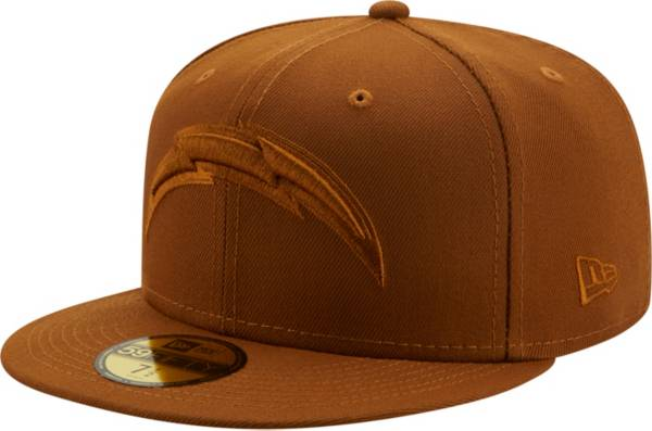 New Era Men's Los Angeles Chargers Color Pack 59Fifty Peanut Fitted Hat product image