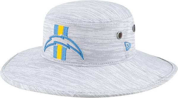 New Era Men's Los Angeles Chargers Grey Sideline 2021 Training Camp Panama Bucket Hat product image