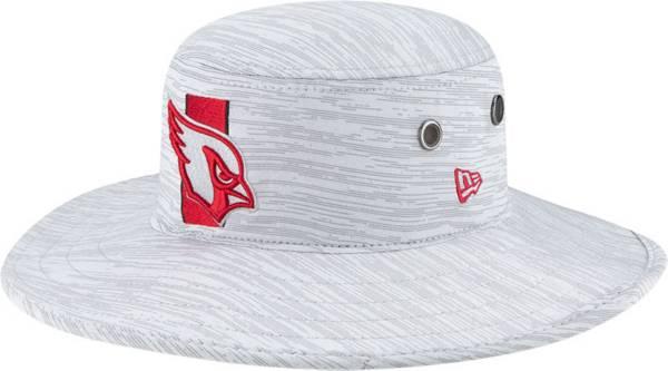New Era Men's Arizona Cardinals Grey Sideline 2021 Training Camp Panama Bucket Hat product image
