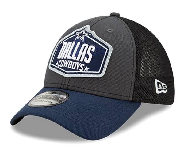 New Era Men's Dallas Cowboys 2021 NFL Draft 9Forty Graphite Adjustable Hat product image