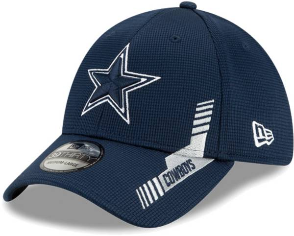 New Era Men's Dallas Cowboys Navy Sideline 2021 Home 39Thirty Stretch Fit Hat product image