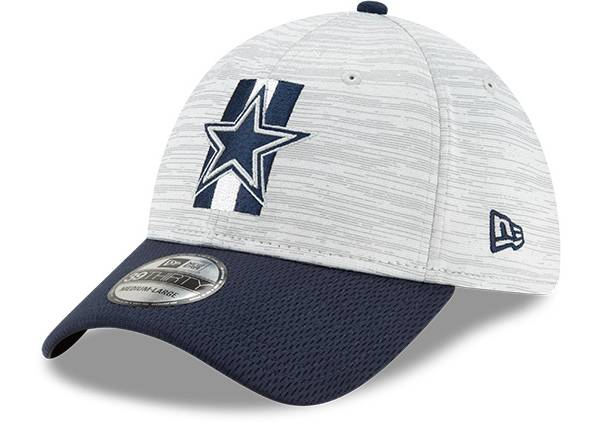 New Era Men's Dallas Cowboys Grey Sideline 2021 Training Camp 39Thirty Stretch Fit Hat product image