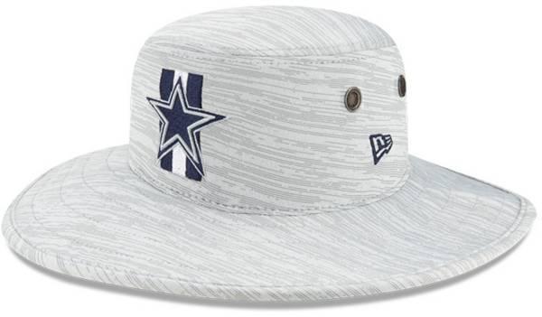New Era Men's Dallas Cowboys Grey Sideline 2021 Training Camp Panama Bucket Hat product image