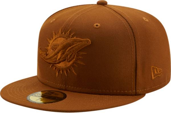 New Era Men's Miami Dolphins Color Pack 59Fifty Peanut Fitted Hat product image