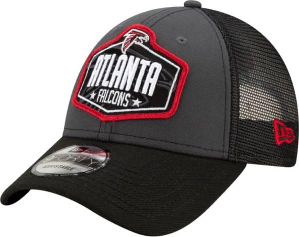 New Era Men's Atlanta Falcons 2021 NFL Draft 9Forty Graphite Adjustable Hat product image