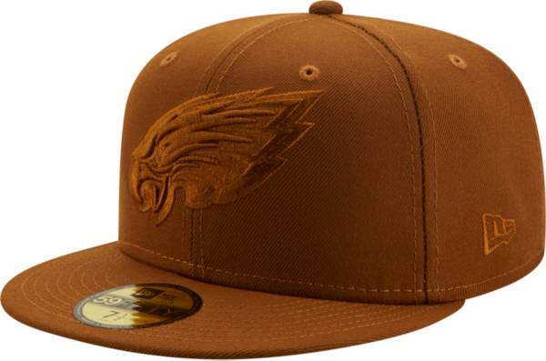 New Era Men's Philadelphia Eagles Color Pack 59Fifty Peanut Fitted Hat product image
