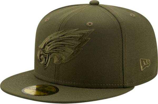 New Era Men's Philadelphia Eagles Color Pack 59Fifty Olive Fitted Hat product image