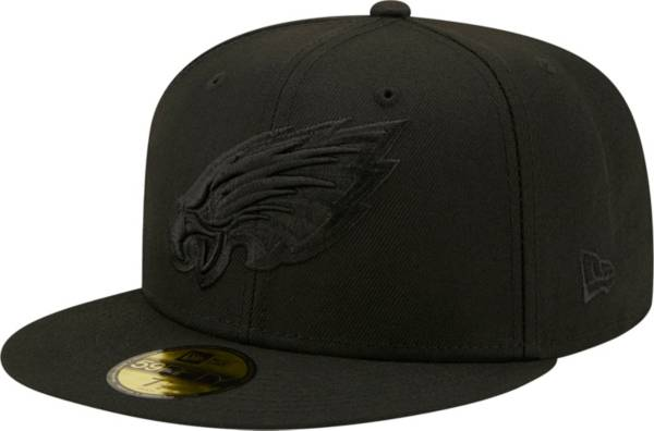 New Era Men's Philadelphia Eagles Color Pack 59Fifty Black Fitted Hat product image