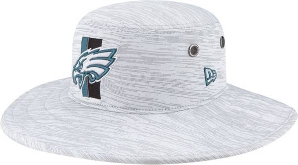 New Era Men's Philadelphia Eagles Grey Sideline 2021 Training Camp Panama Bucket Hat product image
