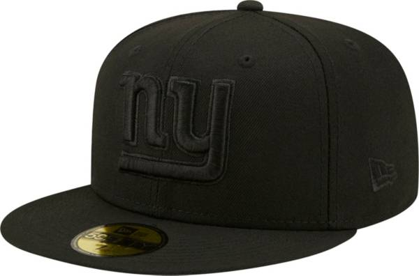 New Era Men's New York Giants Color Pack 59Fifty Black Fitted Hat product image