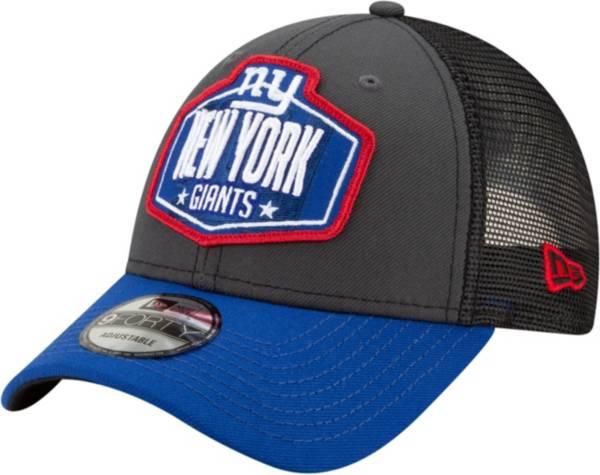 New Era Men's New York Giants 2021 NFL Draft 9Forty Graphite Adjustable Hat product image