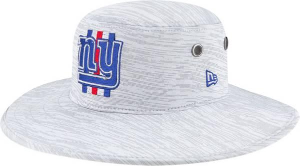 New Era Men's New York Giants Grey Sideline 2021 Training Camp Panama Bucket Hat product image