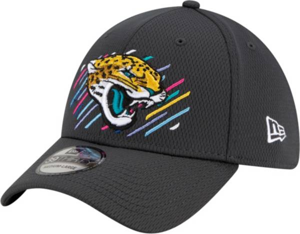 New Era Men's Jacksonville Jaguars Crucial Catch 39Thirty Grey Stretch Fit Hat product image