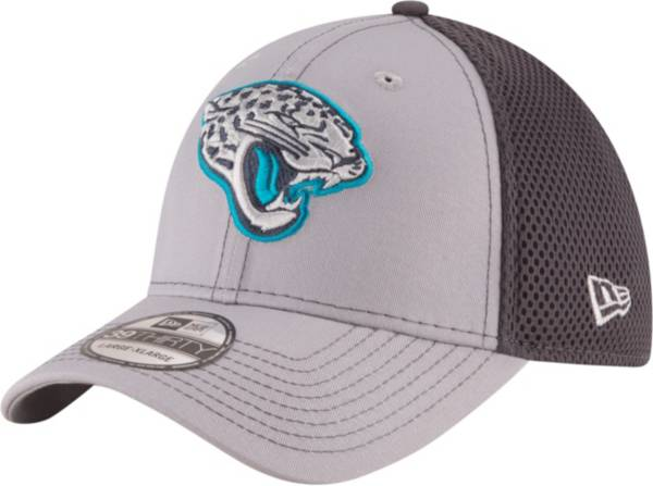 New Era Men's Jacksonville Jaguars Grayed Out Neo 39Thirty Stretch Fit Hat product image