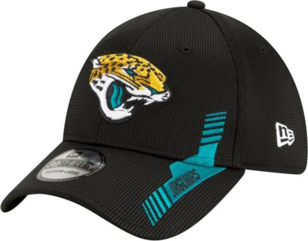 New Era Men's Jacksonville Jaguars Black Sideline 2021 Home 39Thirty Stretch Fit Hat product image