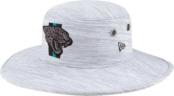 New Era Men's Jacksonville Jaguars Grey Sideline 2021 Training Camp Panama Bucket Hat product image