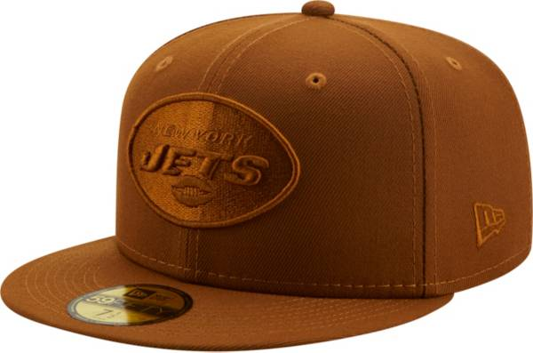 New Era Men's New York Jets Color Pack 59Fifty Peanut Fitted Hat product image