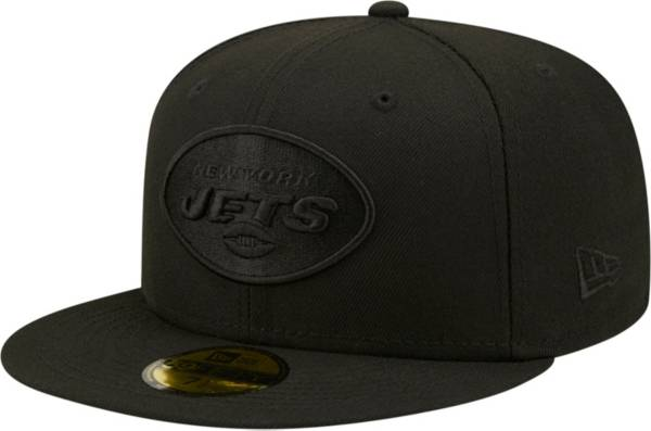 New Era Men's New York Jets Color Pack 59Fifty Black Fitted Hat product image