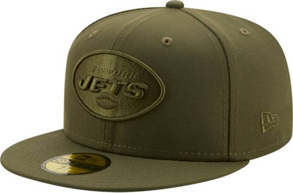 New Era Men's New York Jets Color Pack 59Fifty Olive Fitted Hat product image