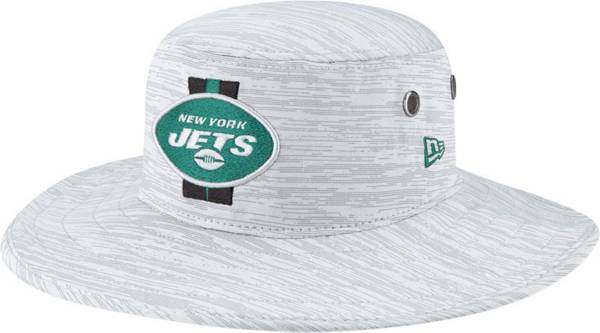 New Era Men's New York Jets Grey Sideline 2021 Training Camp Panama Bucket Hat product image