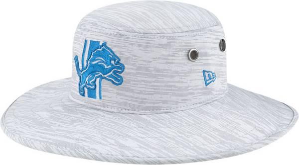 New Era Men's Detroit Lions Grey Sideline 2021 Training Camp Panama Bucket Hat product image