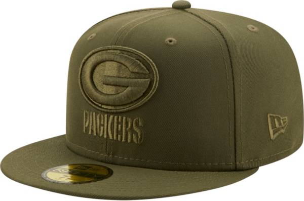 New Era Men's Green Bay Packers Color Pack 59Fifty Olive Fitted Hat product image