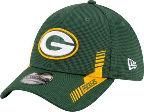 New Era Men's Green Bay Packers Sideline 2021 Home 39Thirty Green Stretch Fit Hat product image