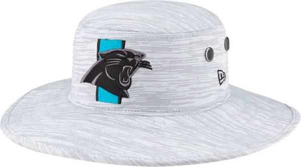 New Era Men's Carolina Panthers Grey Sideline 2021 Training Camp Panama Bucket Hat product image