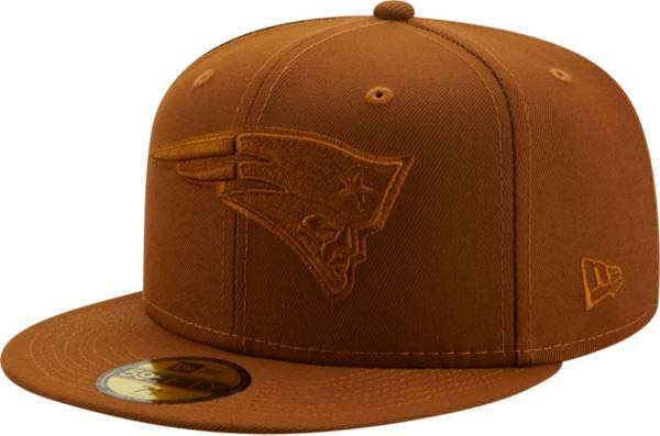 New Era Men's New England Patriots Color Pack 59Fifty Peanut Fitted Hat product image