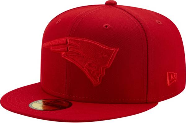 New Era Men's New England Patriots Color Pack 59Fifty Red Fitted Hat product image