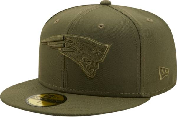 New Era Men's New England Patriots Color Pack 59Fifty Olive Fitted Hat product image