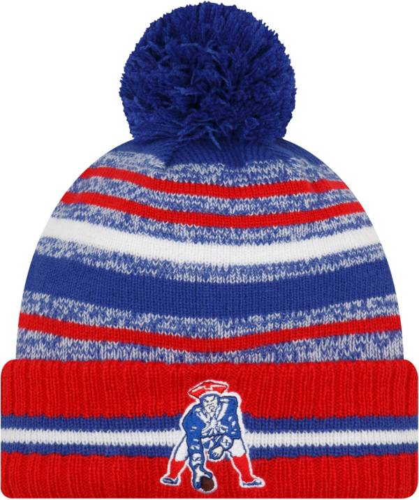 New Era Men's New England Patriots Sideline Sport Knit product image