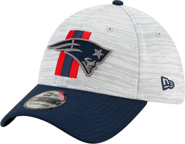 New Era Men's New England Patriots Grey Sideline 2021 Training Camp 39Thirty Stretch Fit Hat product image
