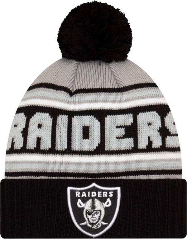'47 Men's Las Vegas Raiders Black Cuffed Cheer Knit Beanie product image