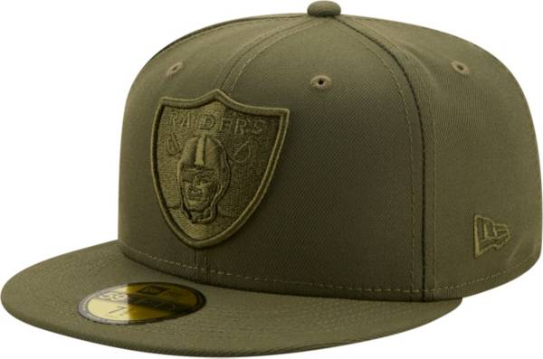 New Era Men's Las Vegas Raiders Color Pack 59Fifty Olive Fitted Hat product image