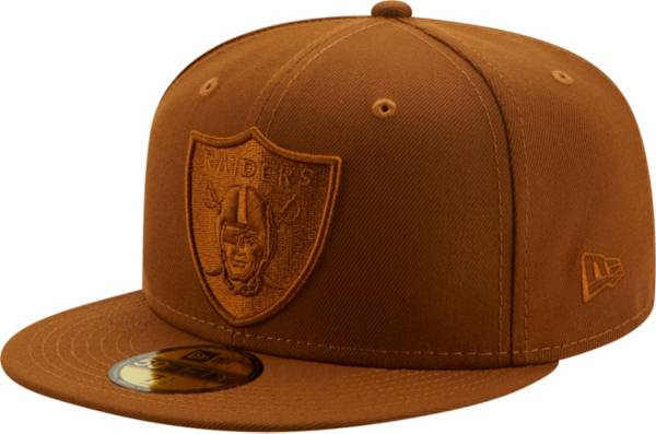 New Era Men's Las Vegas Raiders Color Pack 59Fifty Peanut Fitted Hat product image