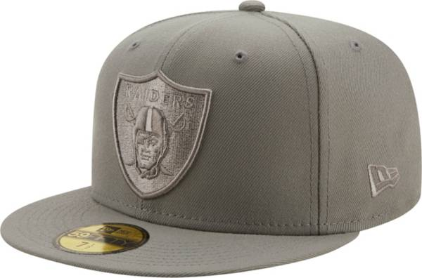 New Era Men's Las Vegas Raiders Color Pack 59Fifty Grey Fitted Hat product image