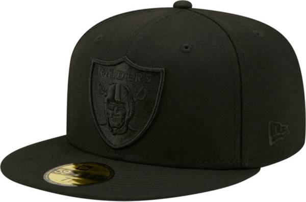 New Era Men's Las Vegas Raiders Color Pack 59Fifty Black Fitted Hat product image