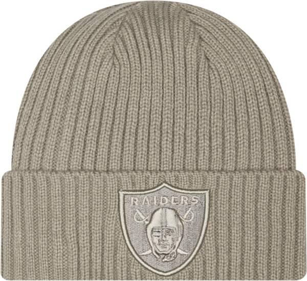 New Era Men's Las Vegas Raiders Core Classic Grey Knit product image